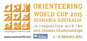 Oceania World Cup Tasmania Logo