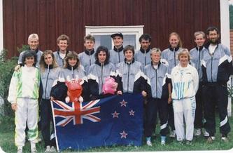 1989 WOC NZ Team