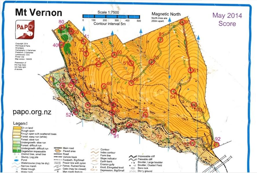 Map - Mt Vernon