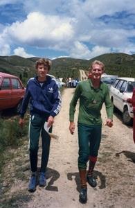 Rob Jessop and Tony Nicholls 1983