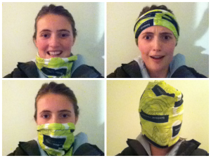 How many different ways can you wear a Buff?