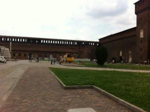 Milan's castle!