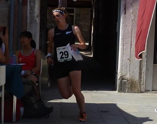 Lizzie Ingham WOC2014 Sprint