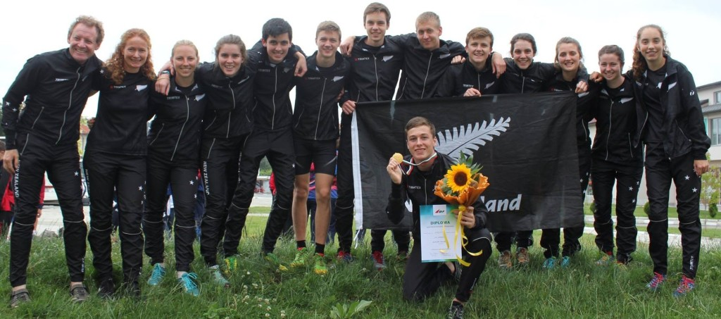 NZ Team JWOC2014 Sprint Medal