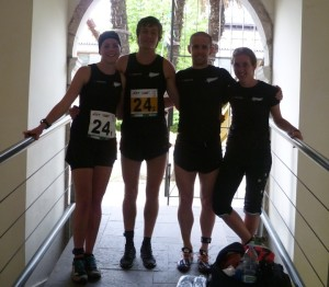 NZ Sprint Relay Team