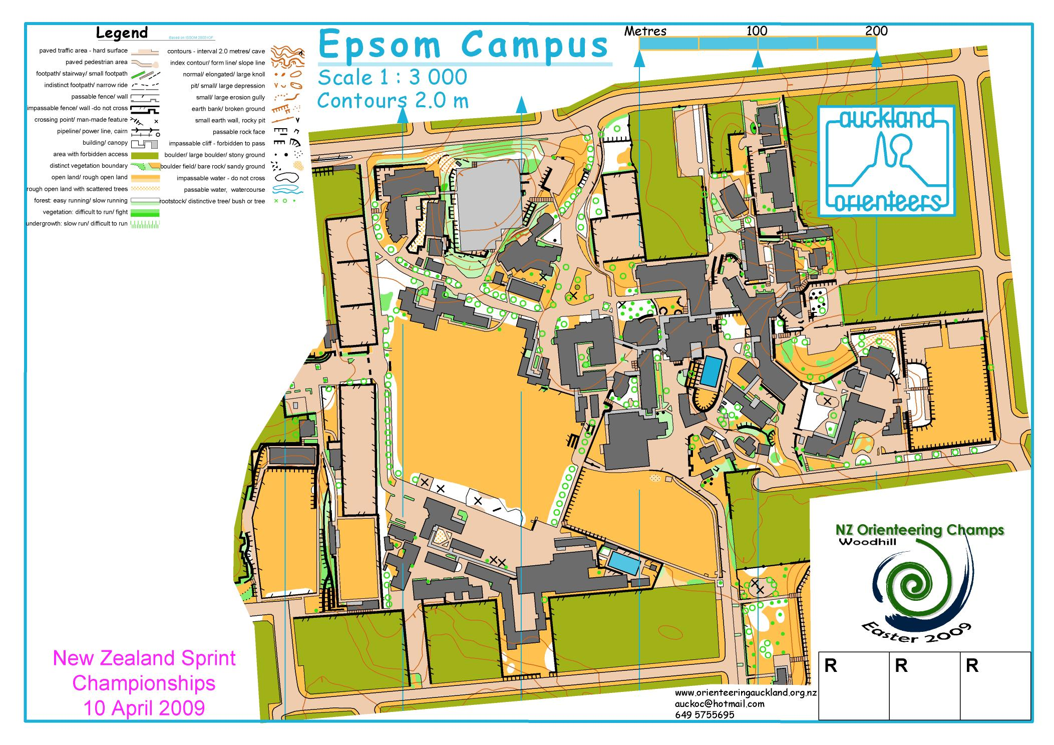 World masters games 2017 world masters orienteering wmoc2017 old maps sprint qualifier map as used nz orienteering champs 2009 biocorpaavc