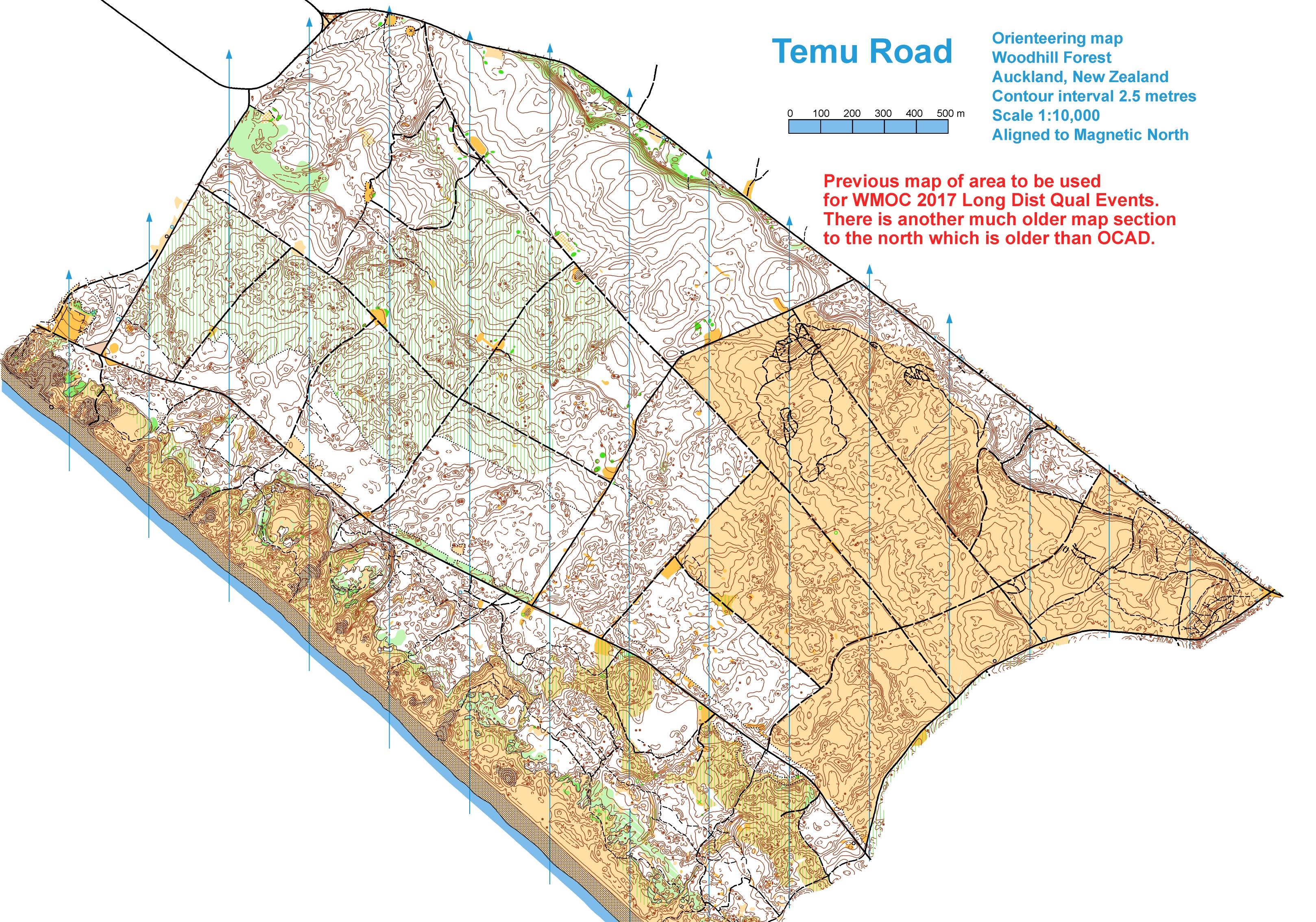 World masters games 2017 world masters orienteering wmoc2017 old maps longdistqual woodhill temu rd biocorpaavc