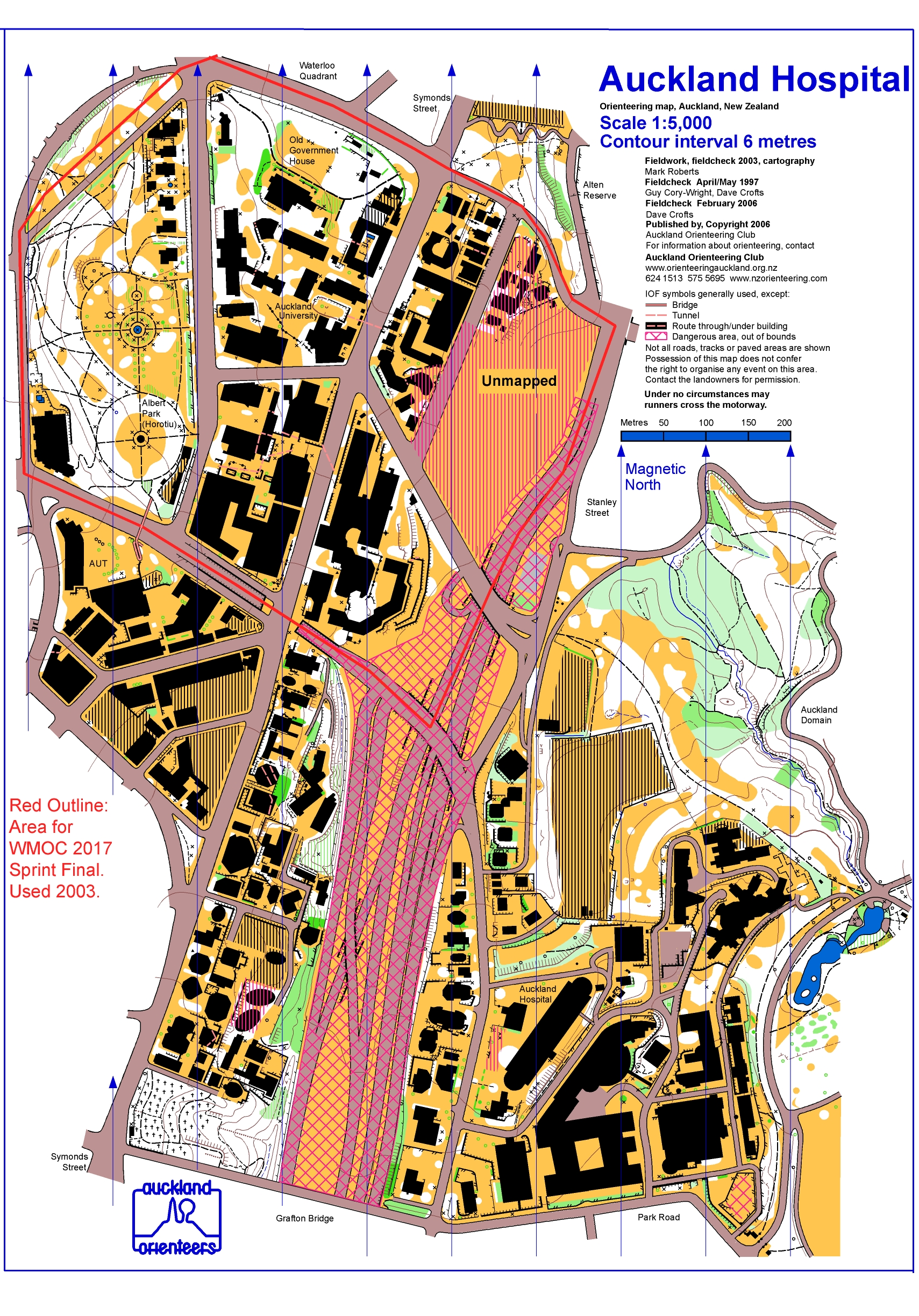 World masters games 2017 world masters orienteering wmoc2017 old maps sprintfinal the university of auckland biocorpaavc