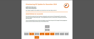 OrienteeringNZ Update Dec 2014