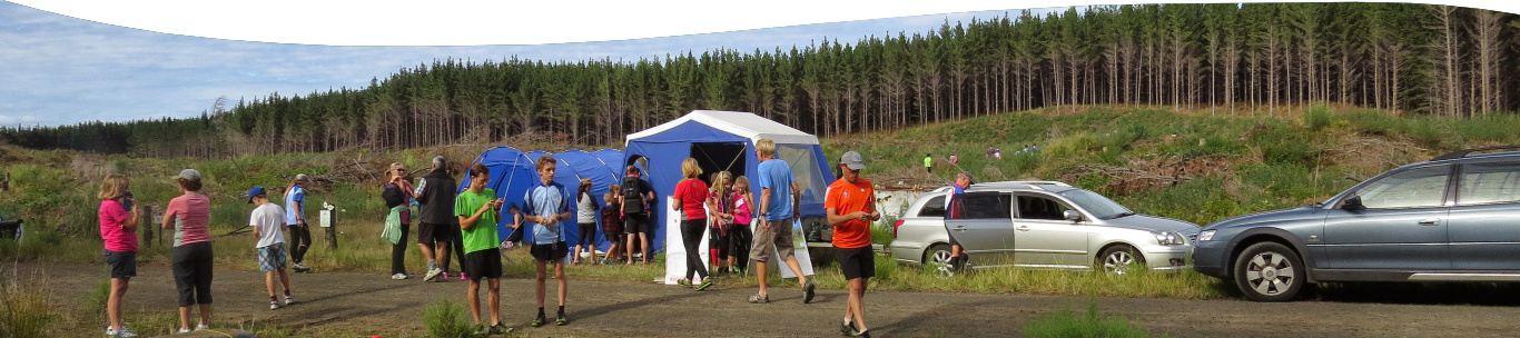 Auckland Orienteering Series 2015 – Woodhill. Credit: Karen Woods