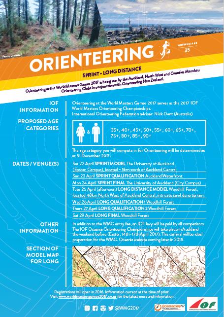 AWMG2017 Orienteering Flier