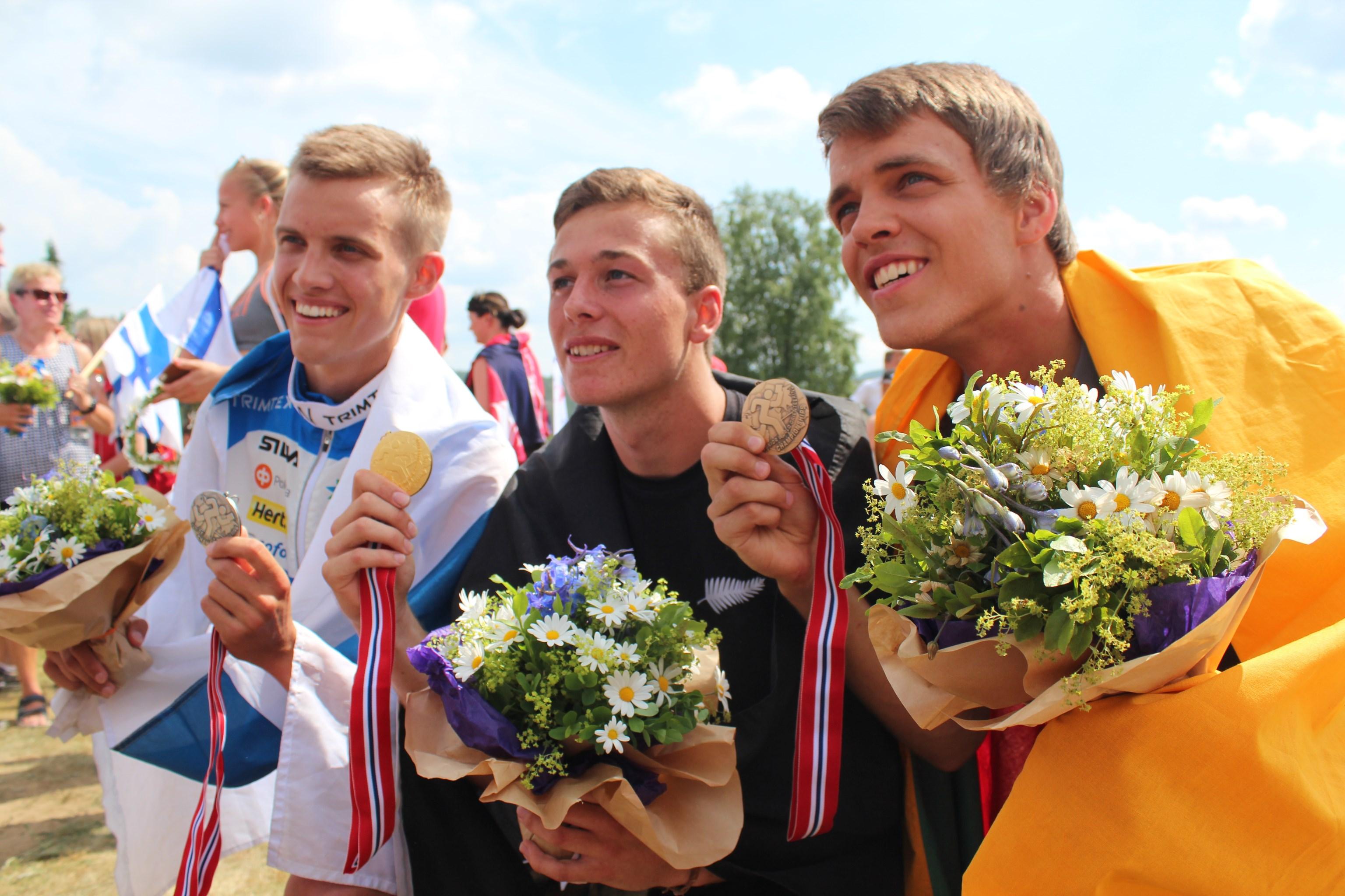 JWOC Sprint Medal Holders