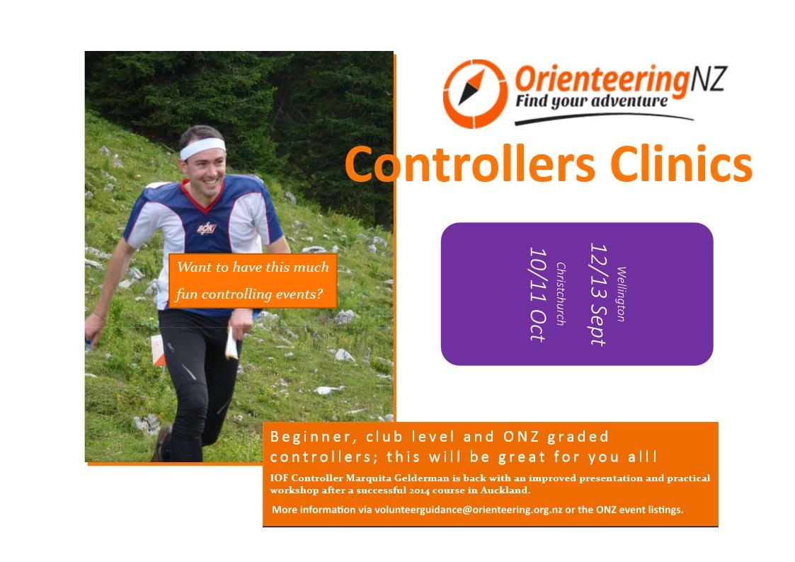 2015 Orienteering Controller Clinics