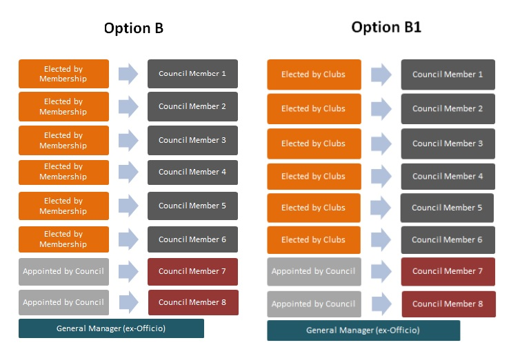 Options B and B1