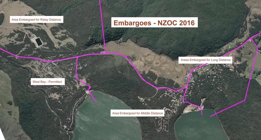 St Arnaud Embargoes NZOC2016