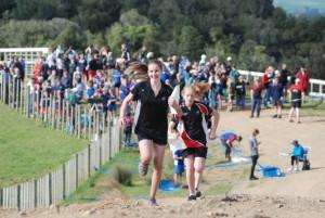 Orienteering Student running