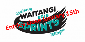 Orienteering Waitangi 2016 Sprints - Wellington