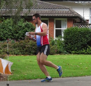 Gergo at 2015 NZ Orienteering Champs, Sprint