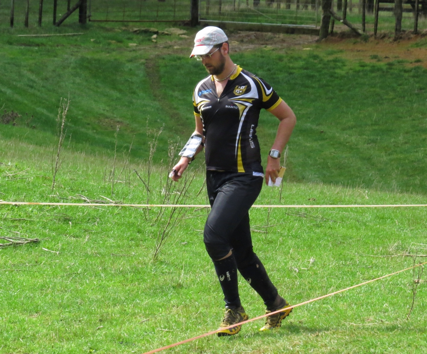 Gergo April 2015 - NZ Orienteering Champs, Long - Goat City, Onewhero