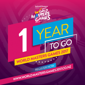 World Masters Games 2017 - One Year To Go!
