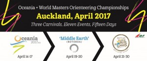 Oceania + World Masters Orienteering Championships - Auckland 2017