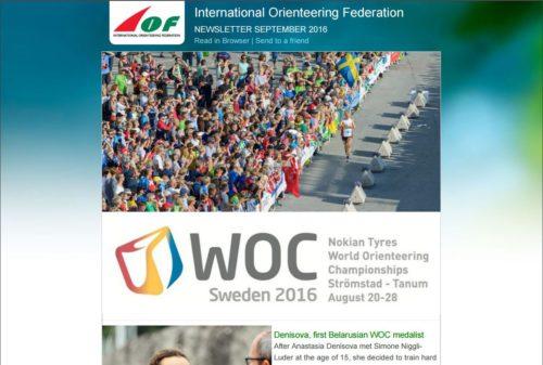 IOF News - September 2016