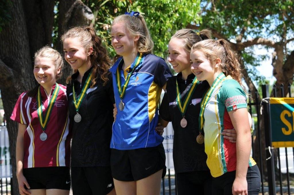 Australian Orienteering Champs 2016 Girls Sprint Champions