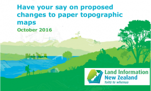 Have your say on proposed changes to topographic maps