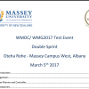 5th March 2017 Auckland WMG2017 Practice Orienteering Event Bulletin Published