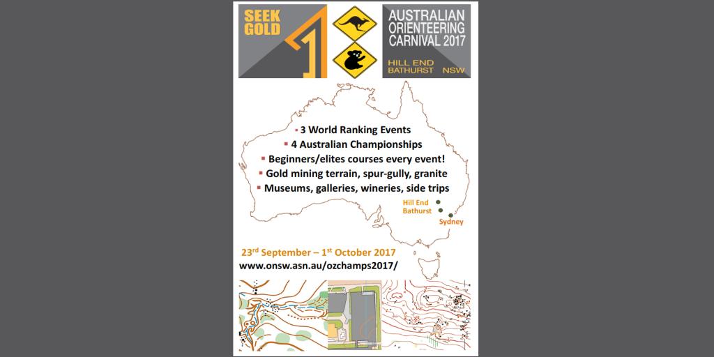 Australian Orienteering Championships Carnival 2017