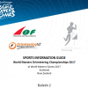 World Masters Games 2017 Orienteering Sports Information Guide (Bulletin 2) is now available