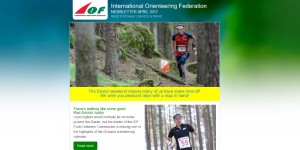 IOF Newsletter April 2017 Preview