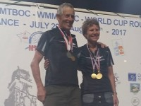 Five Medals for NZ's Marquita and Rob at World Masters MTBO Champs 2017