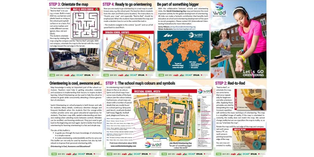 Let's Go Orienteering Brochure