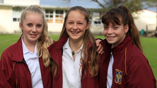 Photo: Stuff - Waiuku College Girls