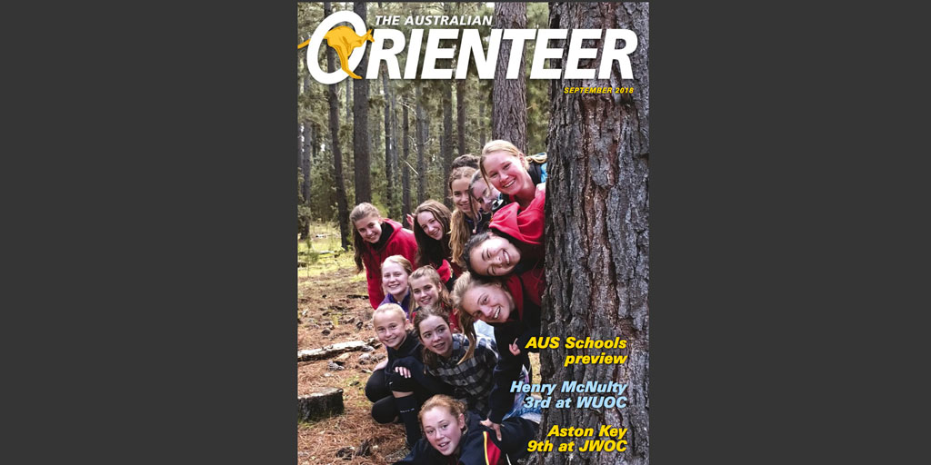 The Australian Orienteer Magazine - September 2018