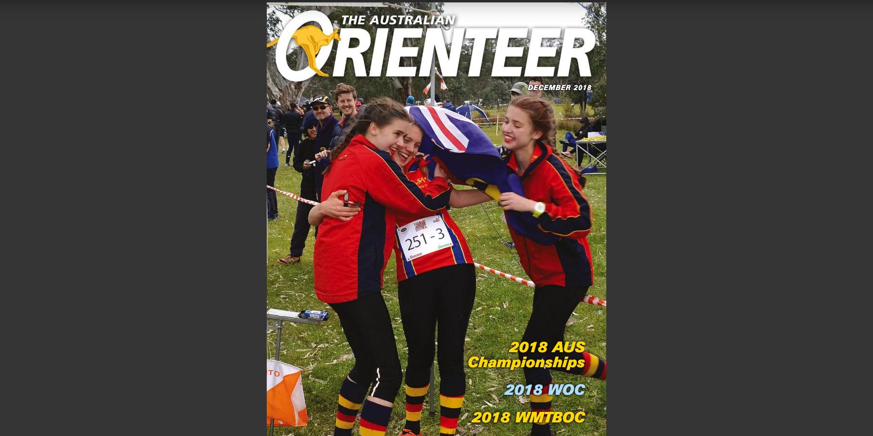 Australian Orienteer - Dec 2018