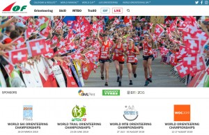 The IOF relaunches official website at orienteering.sport
