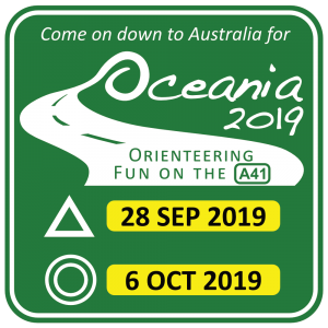 Oceania 2019 - Australia 28 Sept to 6 Oct 2019