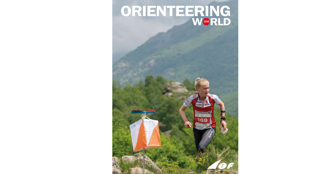 Orienteering World 2018 - Cover