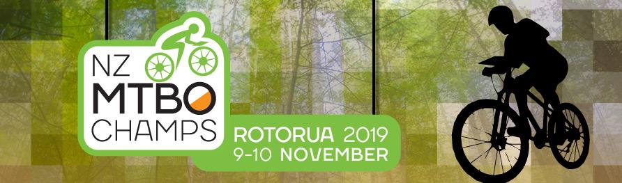 NZ MTBO Champs - Rotorua 2019 9-10 November