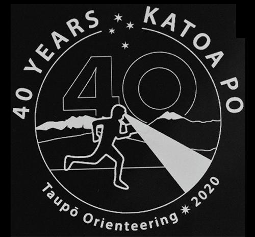Katoa Po 40 years - Taupo Orienteering Club 2020