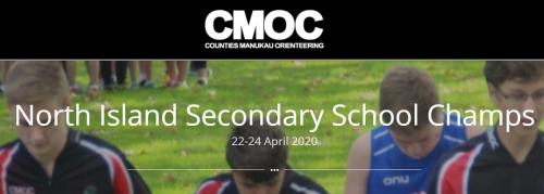 CMOC - North Island Secondary School Champs 22-24 April 2020