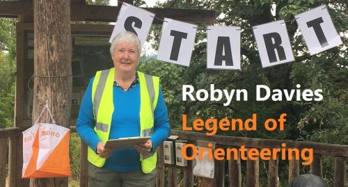Robyn Davies - Legend of Orienteering