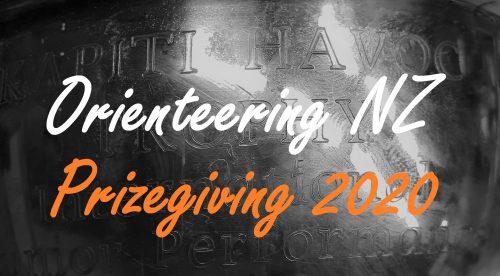 Orienteering NZ Prizegiving 2020