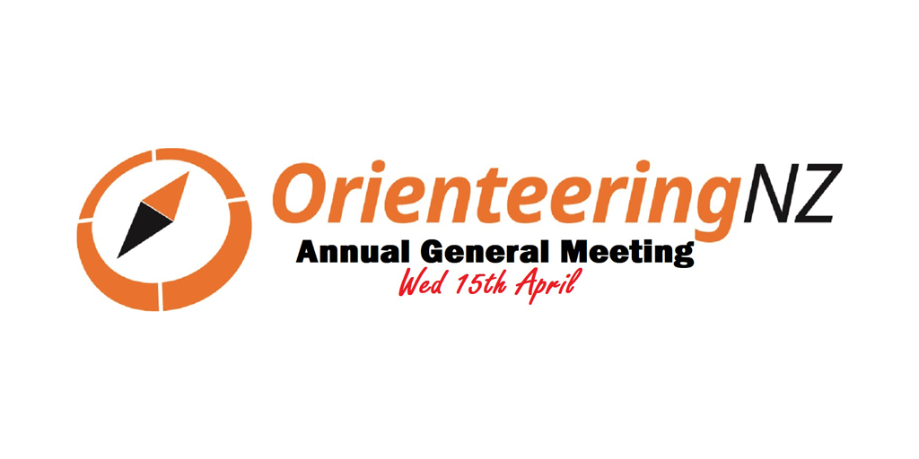 OrienteeringNZ Annual General Meeting - Wed 15th April 2020