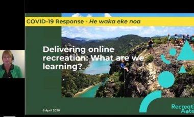 Delivering Online Webinar