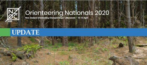 NZ Orienteering Champs 2020 Update