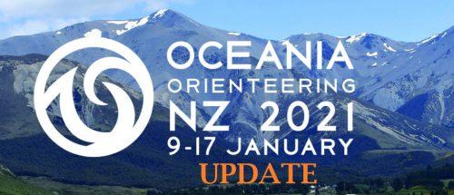 Oceania Orienteering NZ 2021 9-17 January Update
