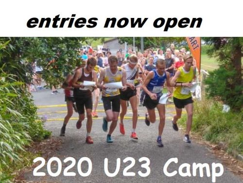 Entries now open - 2020 U23 Camp